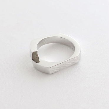 Ring Soleá 18KWG 02