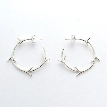Earrings Yedra Silver 02