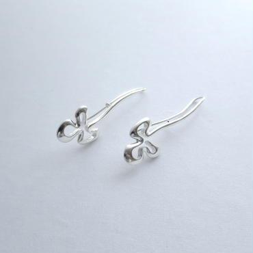 Earrings Poema Silver 02