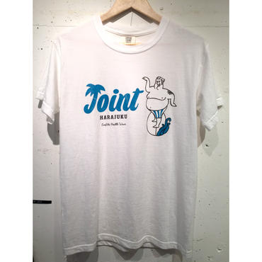 JOINT Harajuku  T-Shirt   Blue Logo