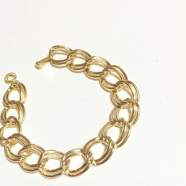 br-6  double chain‐‐‐gold