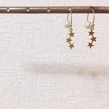 pi-17  round hook star-pearl catch