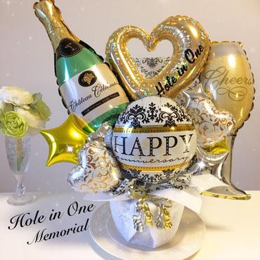 シャンパンアレンジ★記念日★開店・周年祝い★記念日に★