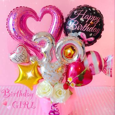 選べる数字♫女の子向け♥お誕生日♥記念日♥周年パーティーなどに♥