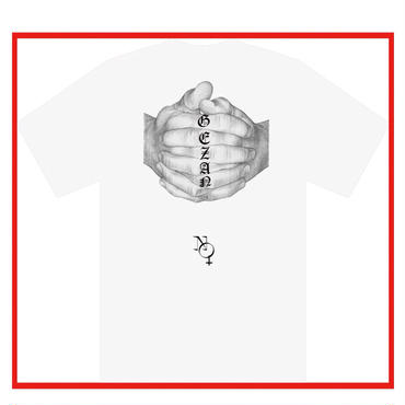 GEZAN//NO GOD T-shirts(white)