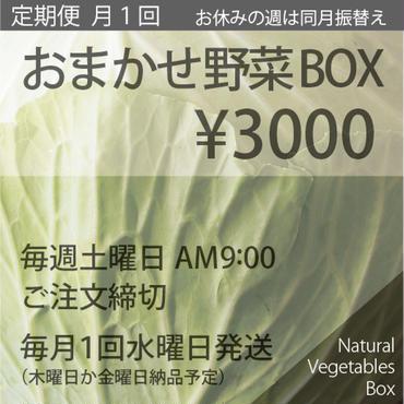おまかせ野菜BOX 定期便(月1回)- Sサイズ