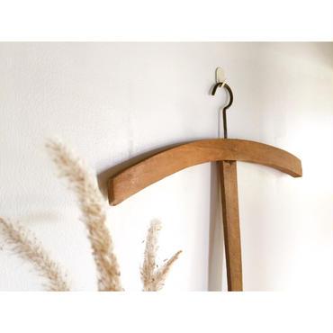 フランス製 アンティーク木製ハンガー