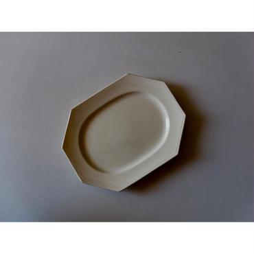 Sarreguemines Octogonal Plate