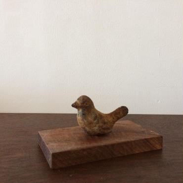 青銅  鳥型文鎮