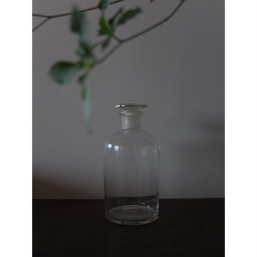 昭和初期 日本製 栓付き薬品瓶