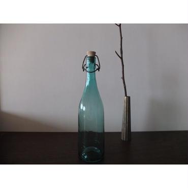 大正〜昭和初期 日本製 陶器機械栓付き酒瓶