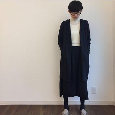 《evam eva》press wool hooded coat
