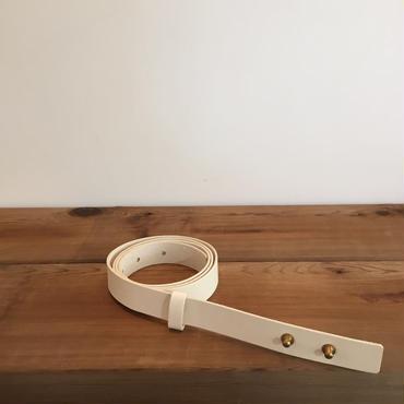 《evam eva》leather belt  20mm