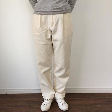 《evam eva》corduroy tuck straight pants