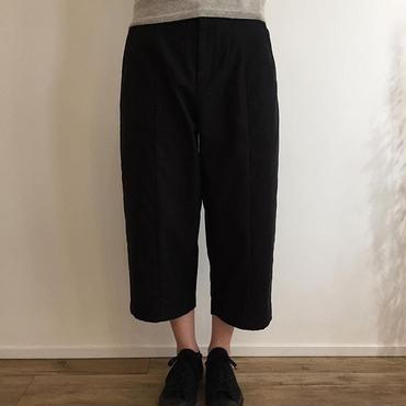 《evam eva》back satin cropped  pants