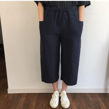 《evam eva》easy cropped pants