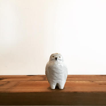 《sen》動物シリーズ・フクロウのオブジェ