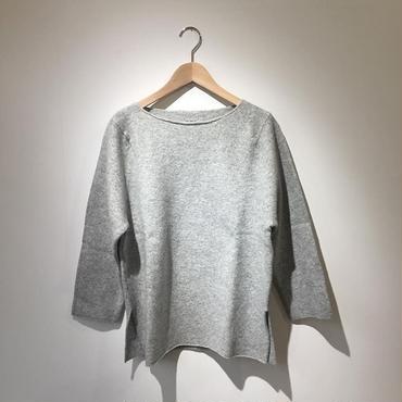 《evam eva》wool cashmere wide pullover