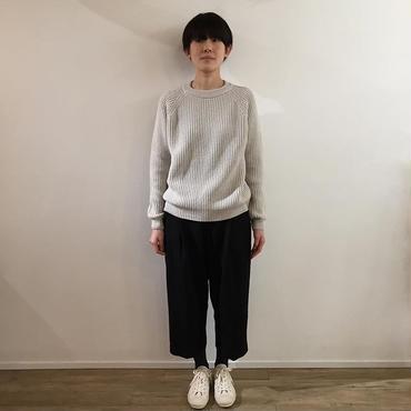 《evam eva》wool cashmere raglan pullover