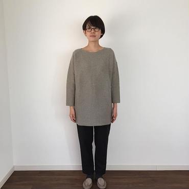 《evam eva》camel wool tunic