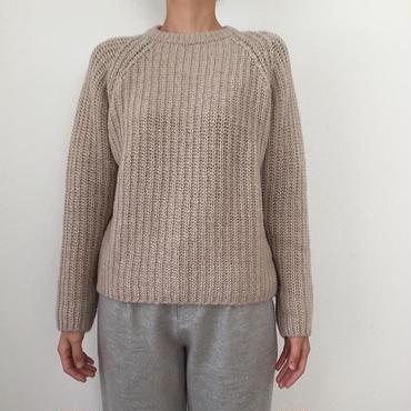 《evam eva》roving wool pullover