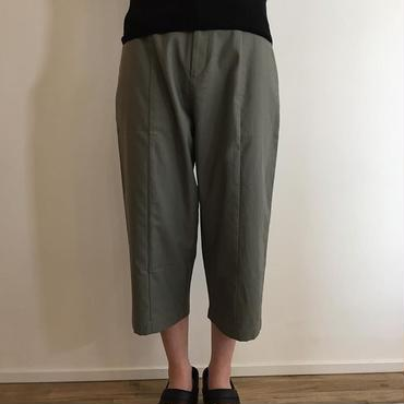 《evam eva》back satin cropped pants