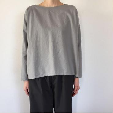 《evam  eva》cotton cashmere square pullover