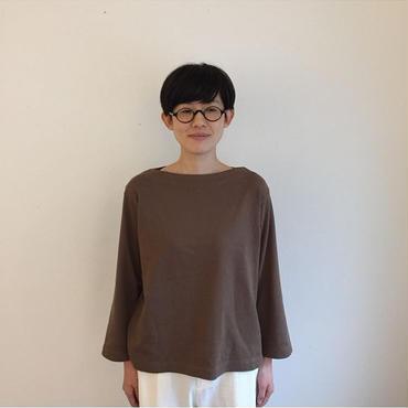 《YAECA》バスクシャツ ワイドショート pk