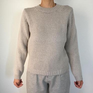 《evam eva》wool cotton pullover
