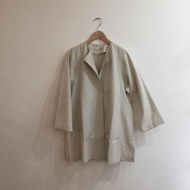 《evam eva》cotton hemp short coat