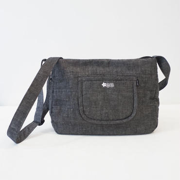 【 Cha-Cosy 】プルメリアがポイント ショルダーバッグ |  婦人 手作りバッグ