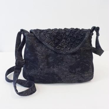 【 Cha-Cosy 】フラップタイプのショルダーバッグ    婦人 手作りバッグ