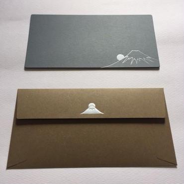 封筒セット 長方形 富士山