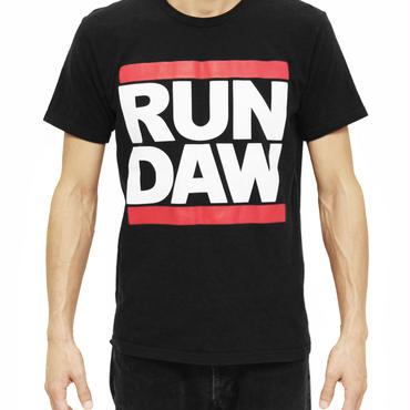 RUN DAW Tシャツ(黒)【予約商品】