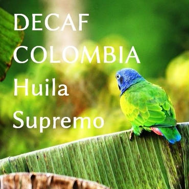 【200g】ディカフェ コロンビア ウィラ スプレモ ラ・セイバ (カフェインレス※除去率99.9%)