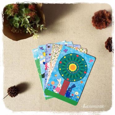 ポストカード5枚セット(柄選択可)
