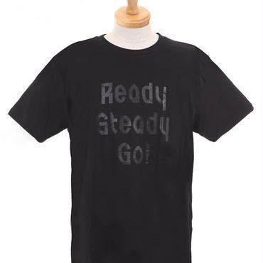 LT003-2  ロゴTシャツ BLACK/BLACK