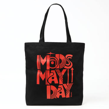 MB001 MODS MAYDAY コラボレーショントートバッグ ブラッック