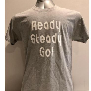 LT005-2 ロゴTシャツ GRAY/WHITE