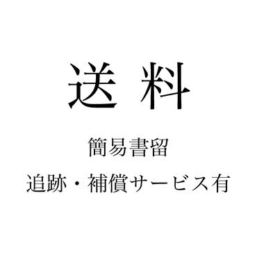 【送料】定形外簡易書留:追跡/補償あり
