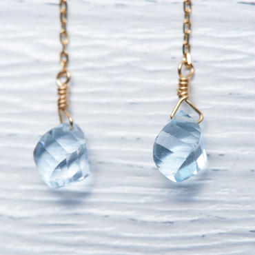 Blue Topaz pierce(shirshi)