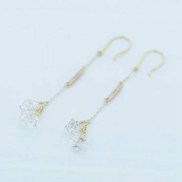 Herkimer Diamond pierce(shirshi)
