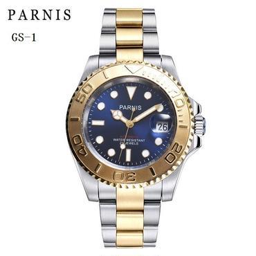 Parnis(パーニス ) 機械式腕時計 50m防水