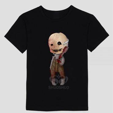 DBD デッドバイデイライト DEAD BY DAYLIGHT Tシャツ トラッパー  ブラック