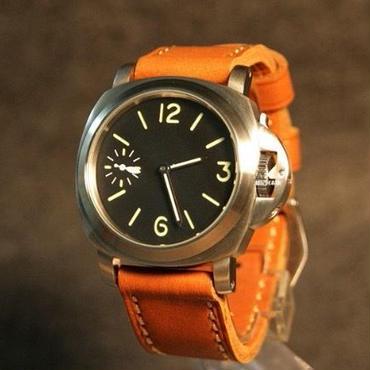 Parnis 手巻き 腕時計 機械式 44m  メンズ