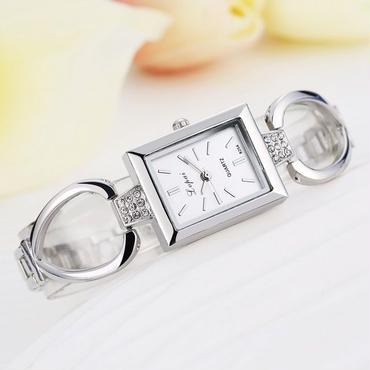 LVPAI レディース クォーツ腕時計 長方形タイプ ブレスレット