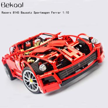 レゴ (LEGO) 互換 レーサー フェラーリ599 8145風