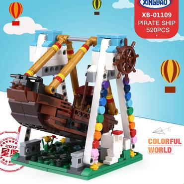 Xingbao 01109 海賊船建設のセット