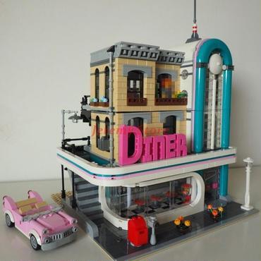 レゴ (LEGO) 互換 ダウンタウン ディナー  10260風