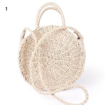 artmomo レディース 手作り籐織 ハンドバッグ ビッグサイズ